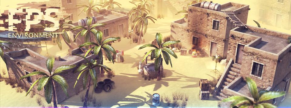 Desert Environment Banner