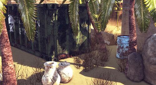 Desert Environment Screenshot