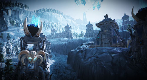 Fantasy Frost Environment Screenshot
