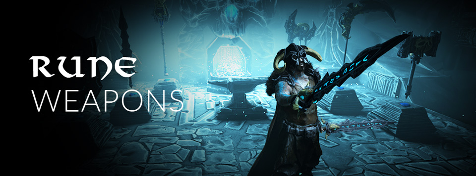 Fantasy Rune Weapons Banner