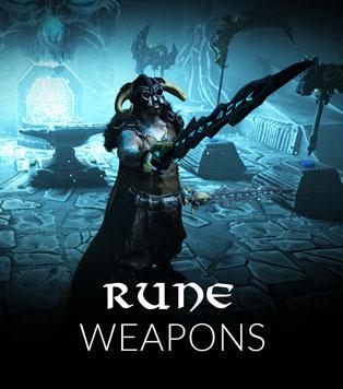 Fantasy Rune Weapons