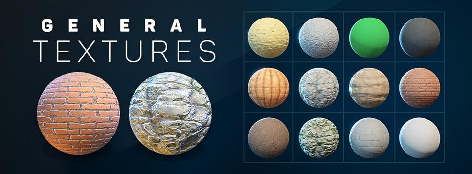 General Textures Banner