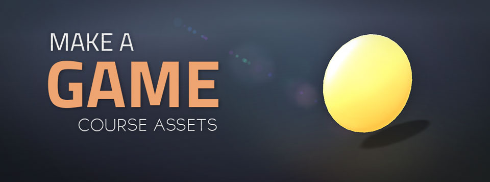 Make a Game Assets Banner