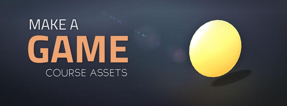 Make a Game Assets Banner