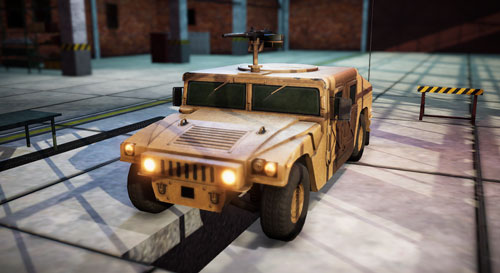 Military Vehicles Screenshot