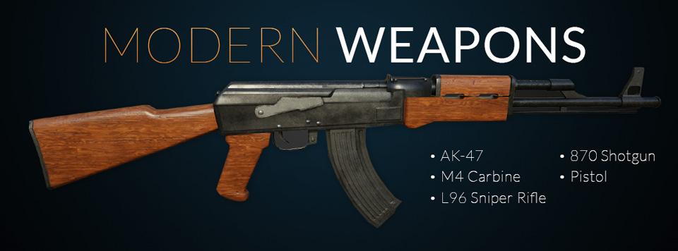 Modern Weapons Banner