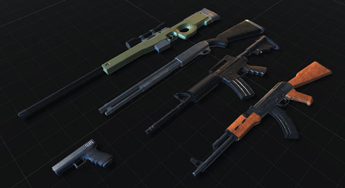 Modern Weapons Screenshot