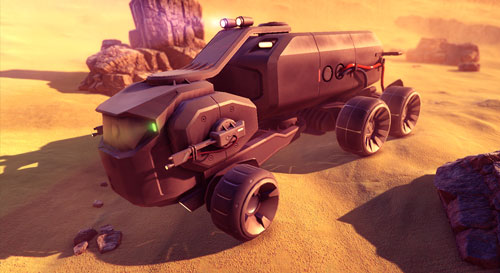 Sci Fi Vehicles Screenshot